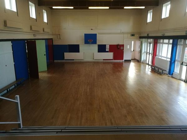 Our new hall