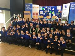 Ministers Visit Our School!