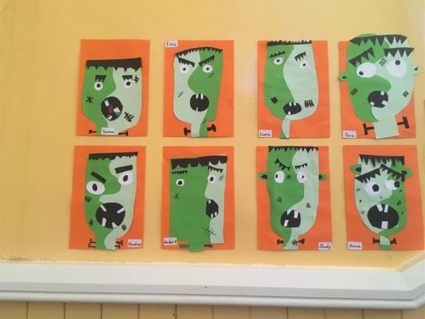 Third Class Halloween Week!!