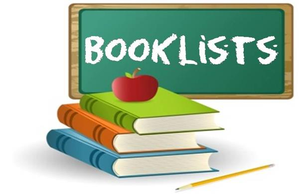 Book Lists 2019 - 2020
