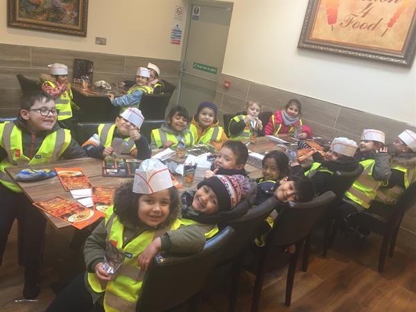 Junior Infants visit Passion 4 Food