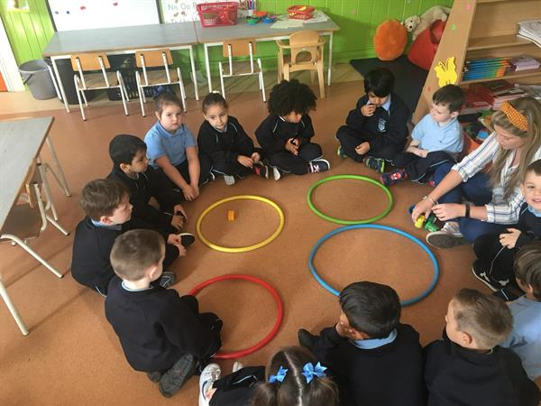 September and October in Ms Kennedy's Junior Infants