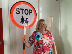 Lollipop Lady May Bridgeman retires after 36 years