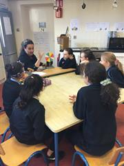Science Workshop with DIT  Kevin St Chemistry Students