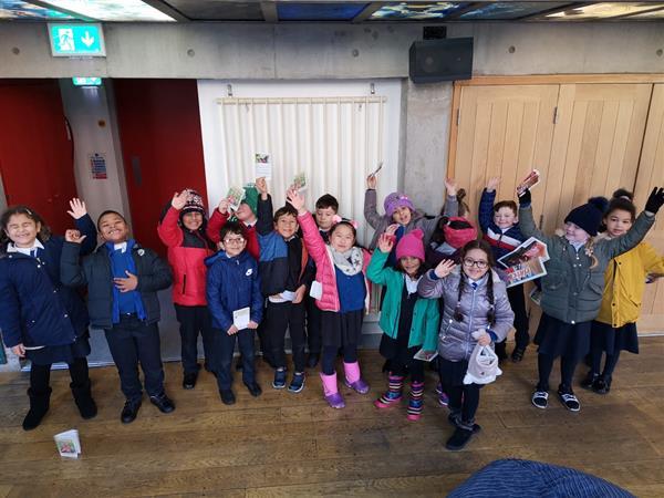 Creative Schools Trip to the Theatre