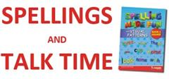 English: Spellings and Talk Time